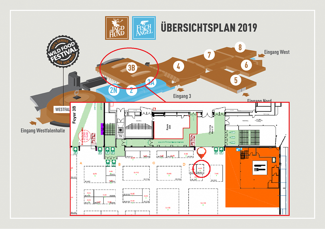 Visit us at the exhibition Jagd&Hund 2019 in Dortmund